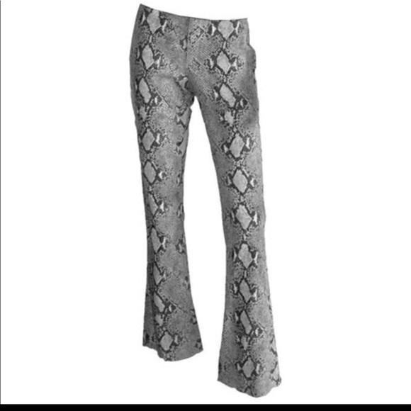32cfd326dd Vintage Gucci snakeskin print pant